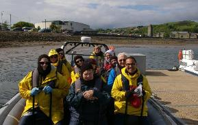 campbeltown scotland zodiac cruise
