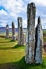 ring of brodgar in orkney scotland